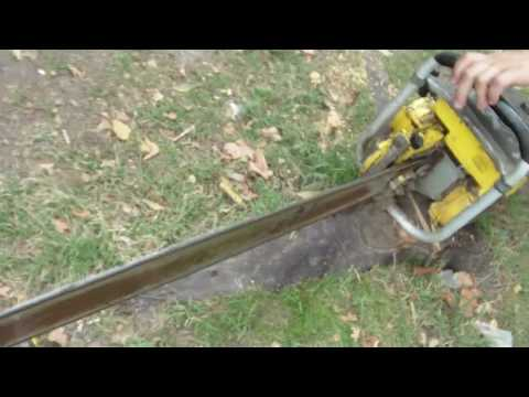 Giant McCulloch 895 Chainsaw - YouTube