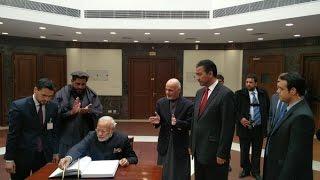 PM Modi inaugurates Afghanistan