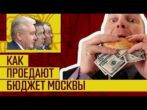 Видео: Жирные куски бюджета для команды Собянина