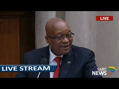 President Zuma Q&A session in the NCOP