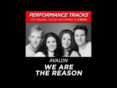 Avalon - We Are The Reason (Performance Track In Key Of C/G/D Without Background Vocals)