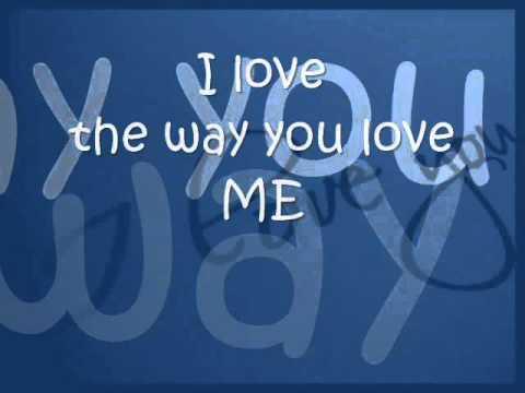 Eric Martin - I love you the way you love (Lyrics)