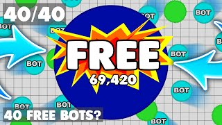 Agar.io ★ How to get up to 40 FREE bots/minions!?!?!? ★ AGAR.IO HACK / MOD!? [RAGA.PW] HACKED?