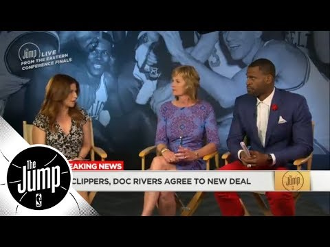 Clippers and head coach Doc Rivers agree to contract extension | The Jump | ESPN
