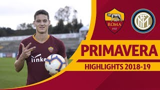 Roma 4-2 Inter, Primavera Highlights 2018-19