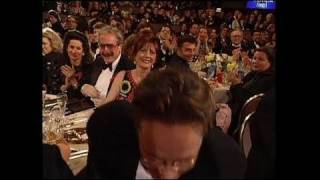 Tim Robbins Wins Best Actor Motion Picture Musical or Comedy - Golden Globes 1993