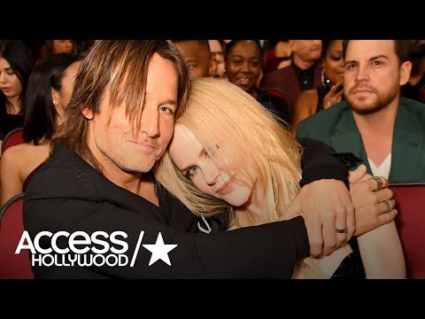 Keith Urban & Nicole Kidman Have The Sweetest Moment At The 2017 AMAs  Access Hollywood
