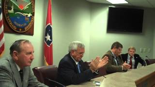 Crossville Council swearing in ceremony 11-19-12
