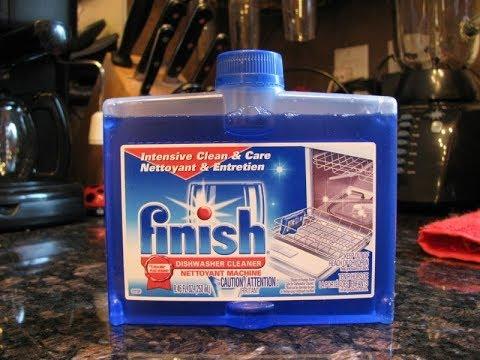 Вопрос: Как вымыть посудомоечную машину отбеливателем?