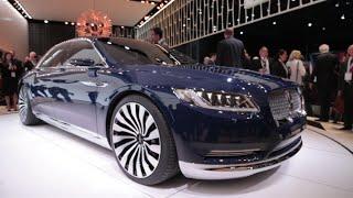 Lincoln Continental Concept - 2015 New York Auto Show