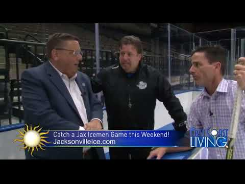 Curtis Dvorak and First Coast Living with the Jacksonville Icemen