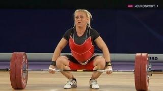 2016 European Weightlifting Championships, Women 58 kg \ Тяжелая Атлетика. Чемпионат Европы