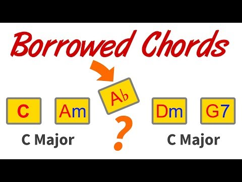 Borrowed Chords - How To Spot & Switch Scales