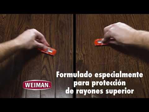 Weiman Hardwood Floor Polish Fades and Prevents Scratches 3
