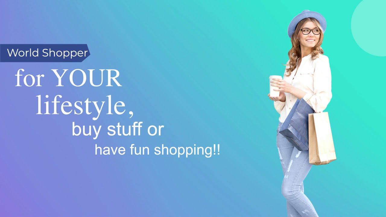 World Shopper Video - online marketplace