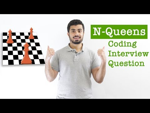 N-Queens - Coding Interview Question (Backtracking Algorithm)