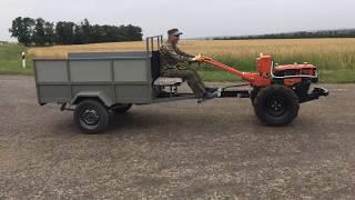 Дизельный мотоблок на колесах R16
