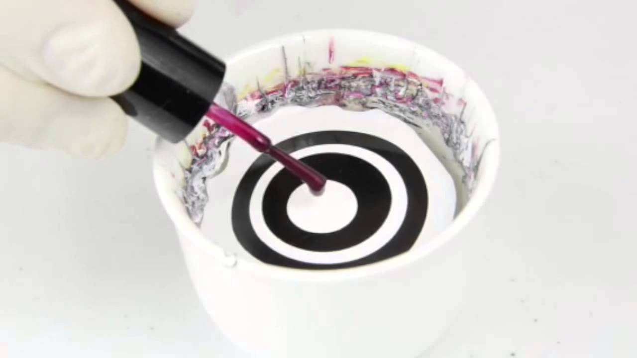 Zebra Water Marble Nail Art/Designs - Images Luxury Nail Lounge ...