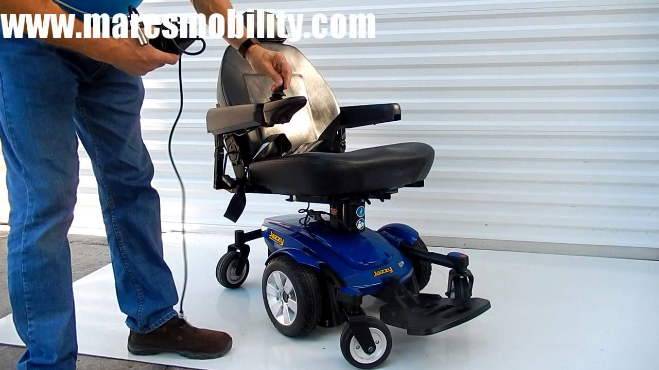 small resolution of jazzy select 6 with seat lift like new by marc s mobility