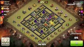 Clash of clans - Versus Chinese Clan (BY LIGHTNING GODS)