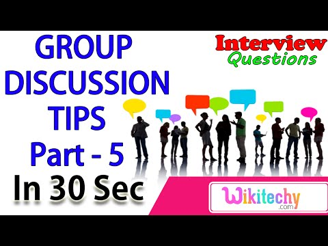 Latest Group Discussion Topics -5 Latest  Group Discussion techniques tips preparation