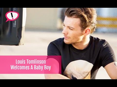 One Direction's Louis Tomlinson Welcomes A Son