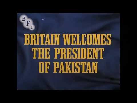 Rare video of Field Marshal Ayub Khan visit to UK
