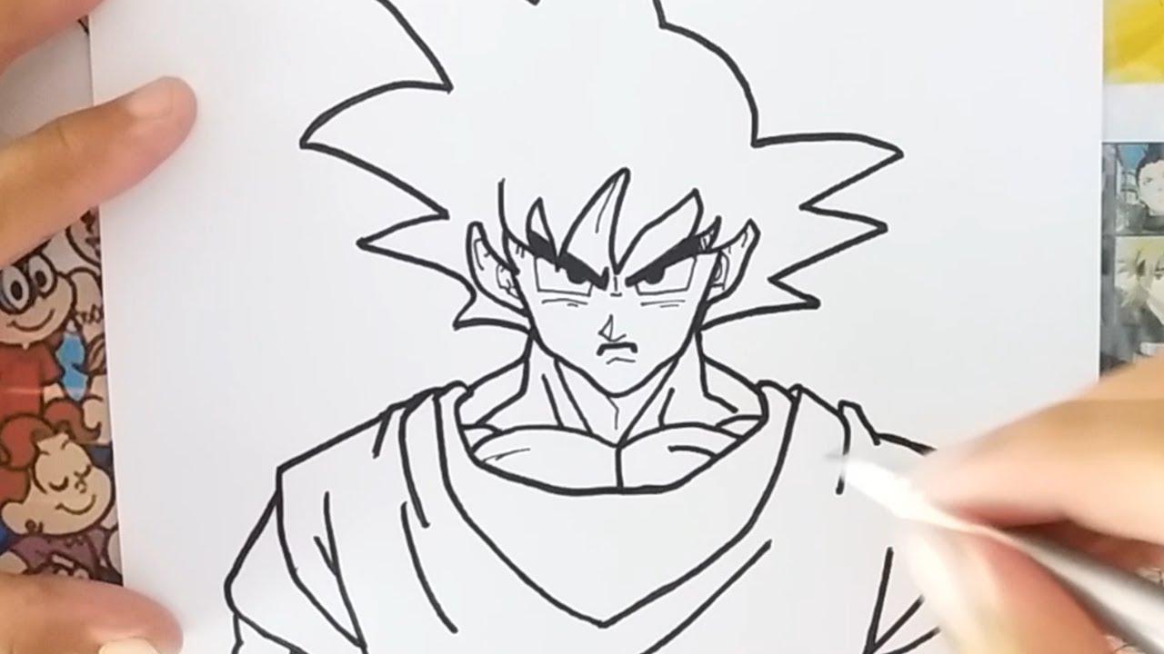 Como Desenhar O Goku Dragon Ball Z