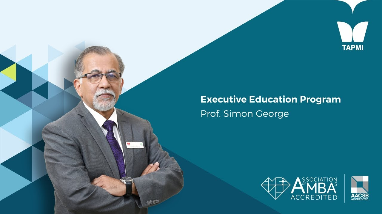Executive Education Program - Prof.  Simon George