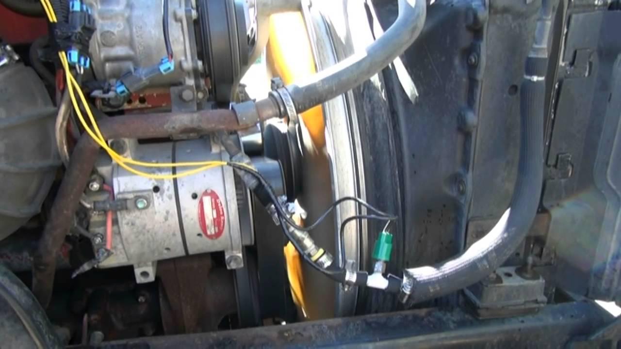 Truck Diesel Heater Facias Electrical Wiring Part Ii Youtube Ecm Controlled Fan Clutch Bypass Cummins Isx 2