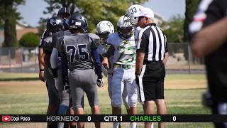 8th Grade Hornedo Tornadoes vs Charles Chargers 2019