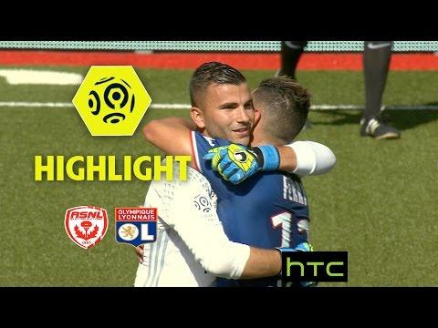 AS Nancy Lorraine - Olympique Lyonnais (0-3) - Highlights - (ASNL - OL) / 2016-17