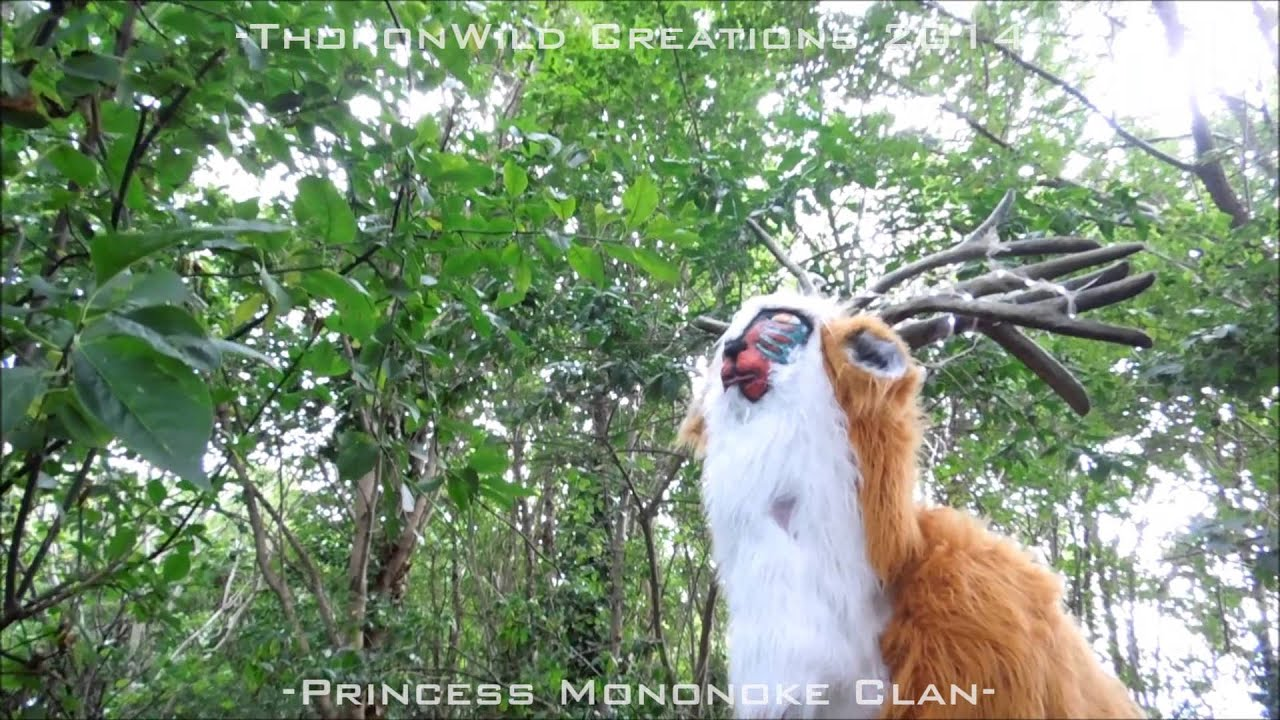 The Forest Spirit Quadsuit From Princess Mononoke Thoronwild