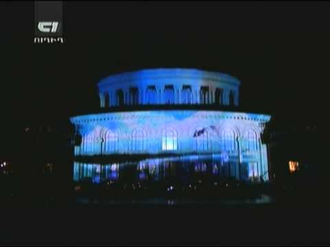 KOHAR | 3D Projection Mapping On Opera House | Yerevan 28.05.2011