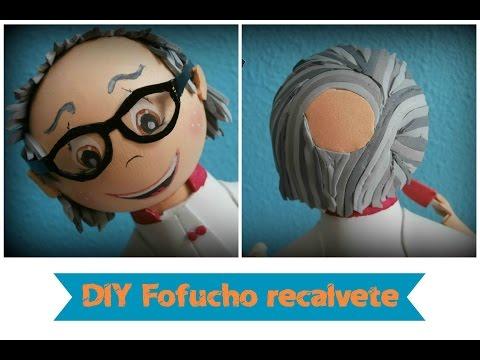 Cómo hacer fofuchos recalvetes/ DIY: Making a little bald fofuchos