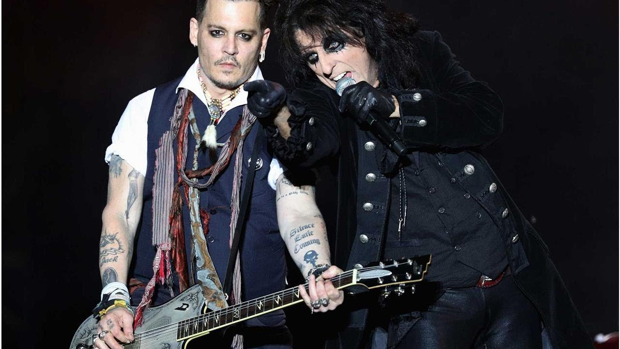 Alice Cooper defends Johnny Depp ahead of Hollywood Vampires tour: '99 per cent was just bull'