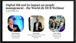 Digital hr goes beyond technology, as it is a key enabler of the employee experience. according to 2017 deloitte global human capital trends report, 6...