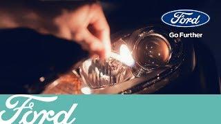 замена ламп ближнего света на Ford Focus 2 рестайлинг