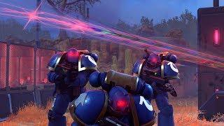 Ultramarines Disable Xeno Communications!  (XCOM 2 Armors Of the Imperium Warhammer 40K Mod)