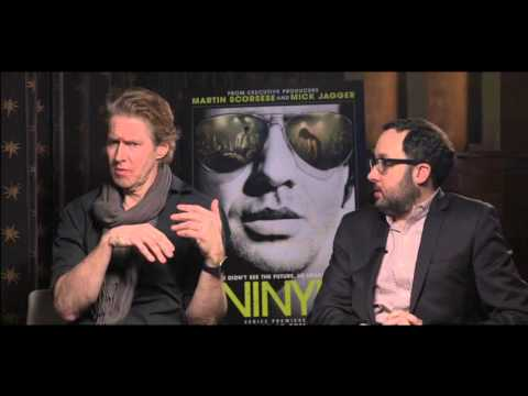 HBO VINYL : Interview with PJ Byrne and JC Mackenzie
