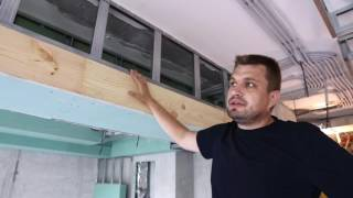 Как усилить проем под раздвижные двери.(Отделка квартиры в Москве,усиление проема под раздвижные двери., 2016-07-15T06:57:20.000Z)