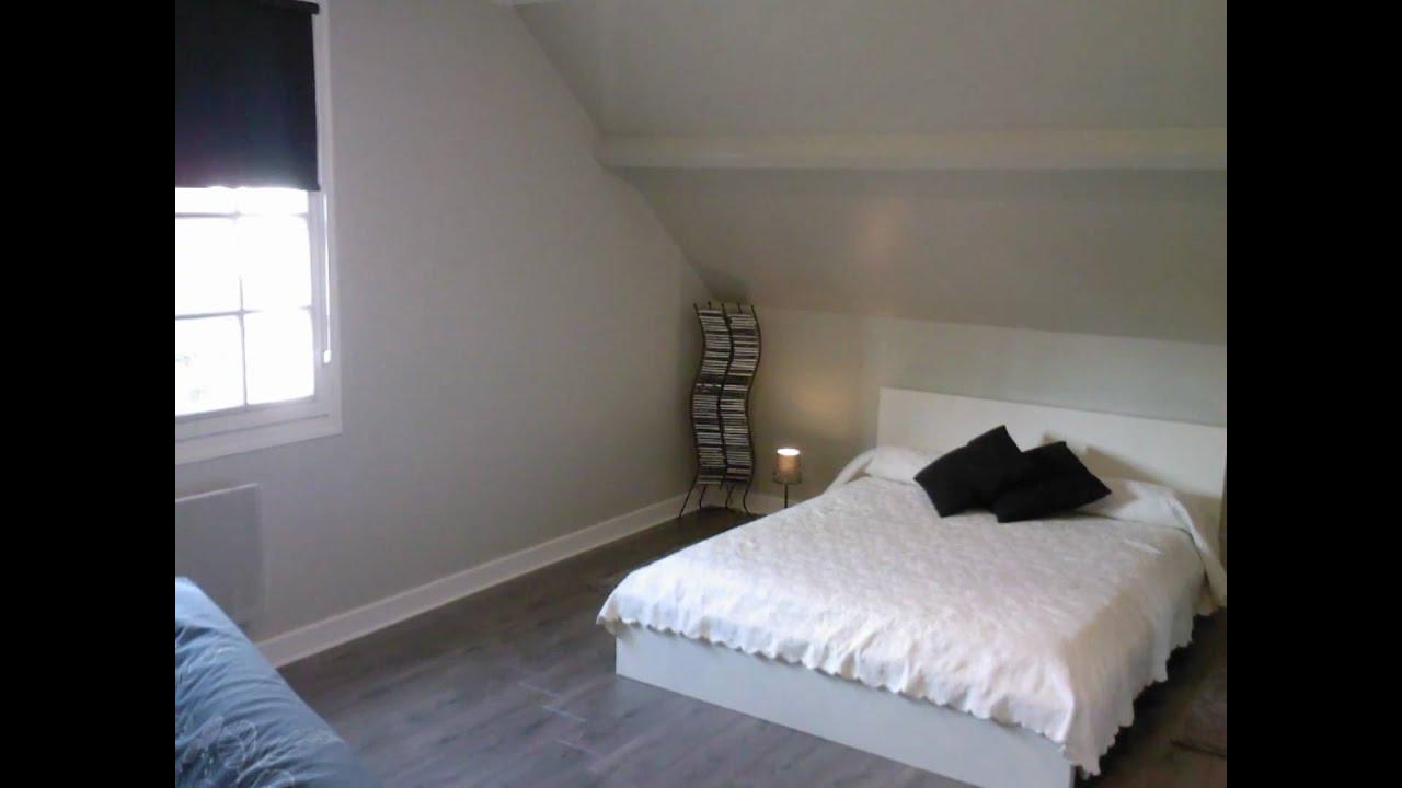 Devis peinture relooking chambre gris taupe - Idee peinture chambre mansardee ...