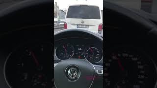 Volkswagen Passat Film Tadında Makas Snap