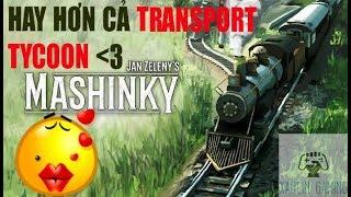 Hay tuyệt vời, Mashinky, game xây dựng truyền nhân của Transport Tycoon đây rồi #01