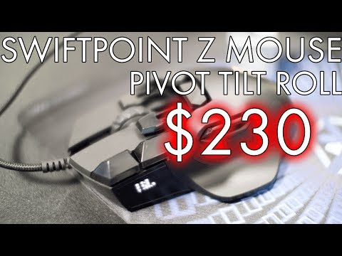 Swiftpoint Z Mouse: Unboxing, First Impression, Demonstration
