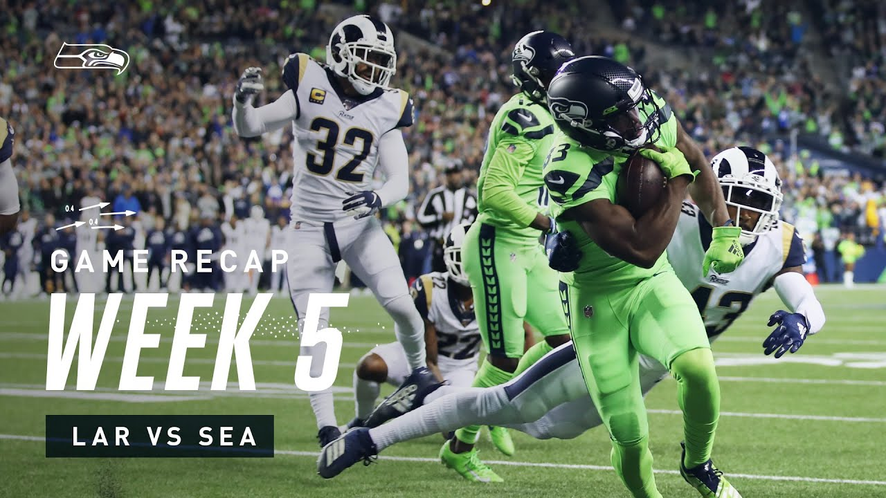 2019 Week 5 Seahawks Vs Rams Recap Youtube