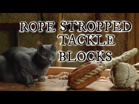 Rope Stropped Tackle Blocks