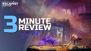 Trine 4: The Nightmare Prince | Review in 3 Minutes (Video Game Video Review)