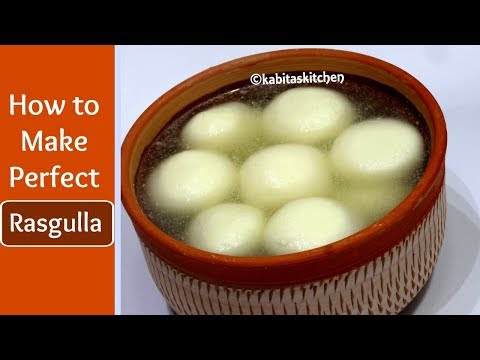 Rasgulla recipe | Bengali Rasgulla | घर मे कैसे रसगुल्ले बनाये | Chenna Rasgulla | KabitasKitchen