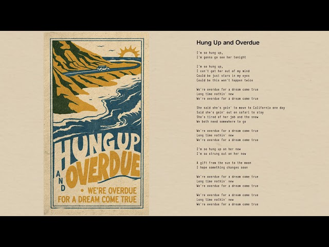Tom Petty - Hung Up and Overdue (Official Lyric Video)